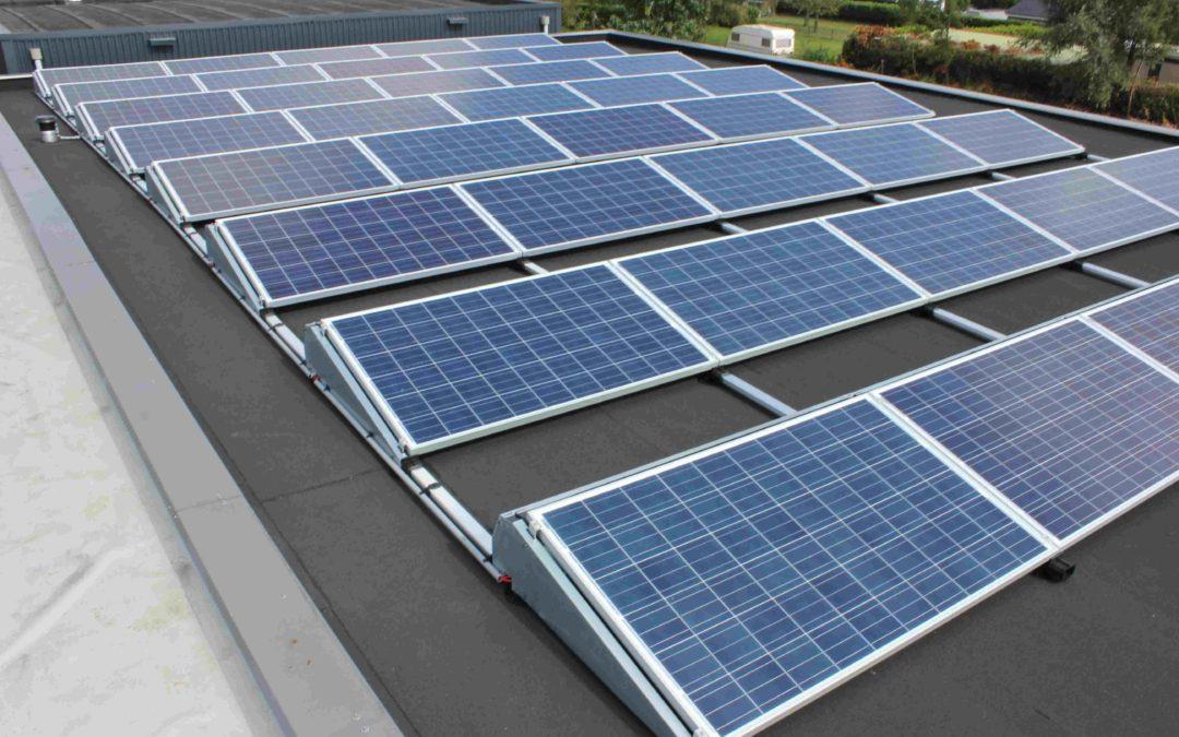 PV installatie op ons eigen bedrijfspand