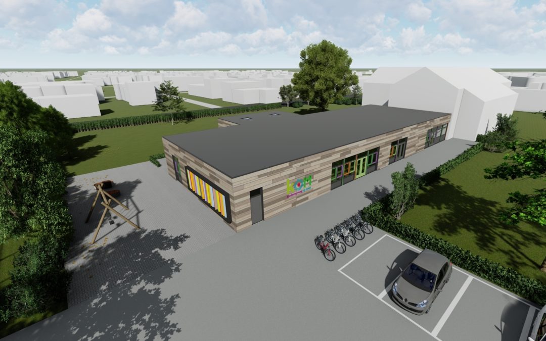 Nieuwbouw Kinderdagverblijf KOM in Wapenveld